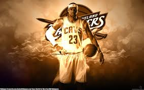 Basketbal 2016 NBA finale Cleveland Cavaliers LeBron James logo