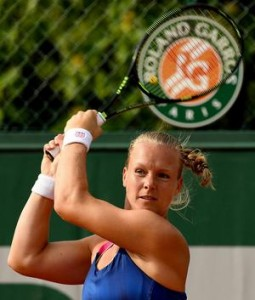 Tennis Kiki Bertens Parijs 2016 tot kwartfinale 02