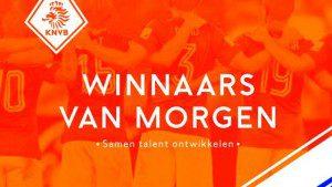 Voetbal van Breukelen plaatje winnaars van morgen