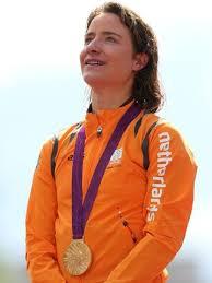 Wielrennen Marianne Vos goud londen