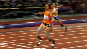 Atletiek EK 2016 Amsterdam 02 blade babe