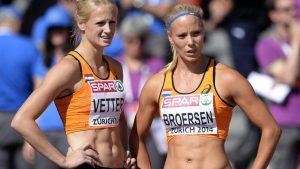 Atletiek EK 2016 Amsterdam 03 O Stadion Vetter Broersen samen plaatje
