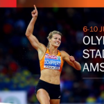 EK atletiek sportfeest in Nederland.