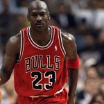 Michael Jordan held van de Chicago Bulls