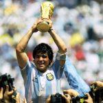"Diego Armando Maradona  ""de hand van God"""