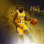 Earvin Johnson Jr. is Magic