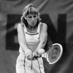Chris Evert Ice Maiden van de tennisbaan