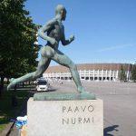 Paavo Nurmi legendarische sportheld uit Finland