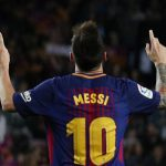 Lionel Messi is de vlo van Barcelona