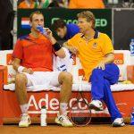 Davis Cup wereldgroep Frankrijk-Nederland