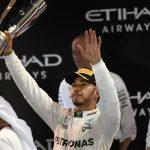 Lewis Carl Davidson Hamilton van beroep autocoureur