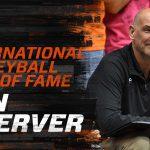 Ron Zwerver was lid van het gouden Volleybalteam