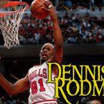 Dennis Rodman een veel besproken sportman