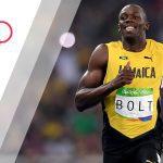 Usain Bolt Thunderbolt uit Jamaica