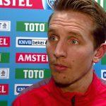 Luuk de Jong de spits van PSV Eindhoven