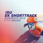 Het Europees Kampioenschap shorttrack in Dordrecht