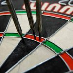 Darts Peter Wright versus Michael Smith